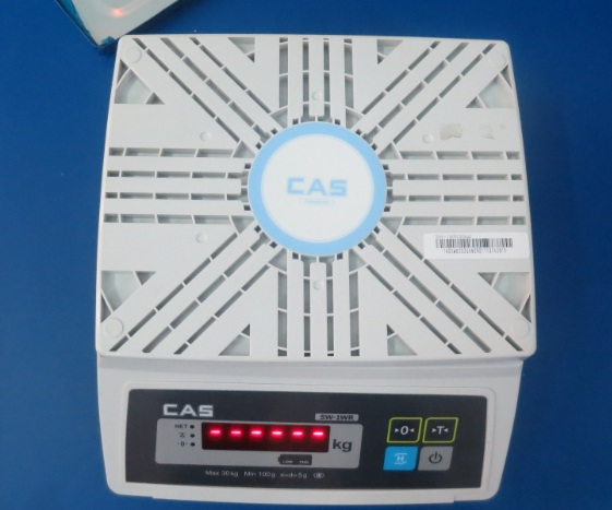 Cân bàn nhỏ CAS SW-1WR-vỏ nhựa ABS cao câp
