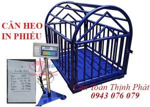 Cân Heo Điện Tử In Phiếu in Bill 500KG, 1 Tấn