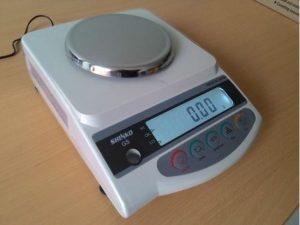CÂN ĐIỆN TỬ GS-1202N 2 SỐ LẺ 1200g/0.01g