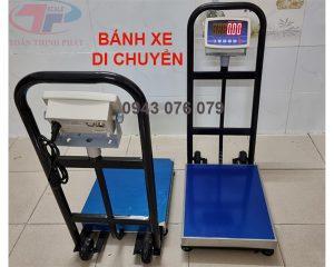 Cân Heo Điện Tử 200kg Bánh Xe Di Chuyển