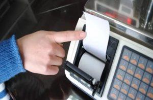 Cân điện tử tính tiền in hóa đơn, in bill