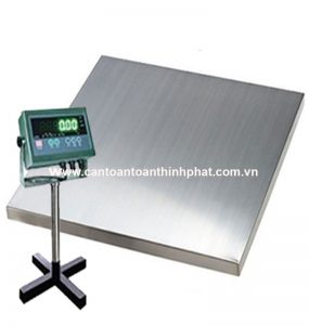 CÂN INOX CHỐNG NƯỚC 500kg, 1t