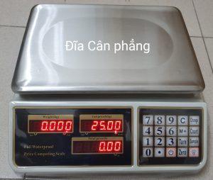 Cân tính tiền chống nước đĩa mâm cân inox bằng