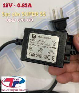 Sạc Cân Super SS 12V/0.83A AEO-1012