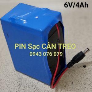 Pin (Ắc Quy) 6V/4AH Cân Treo Có Chui Cắm